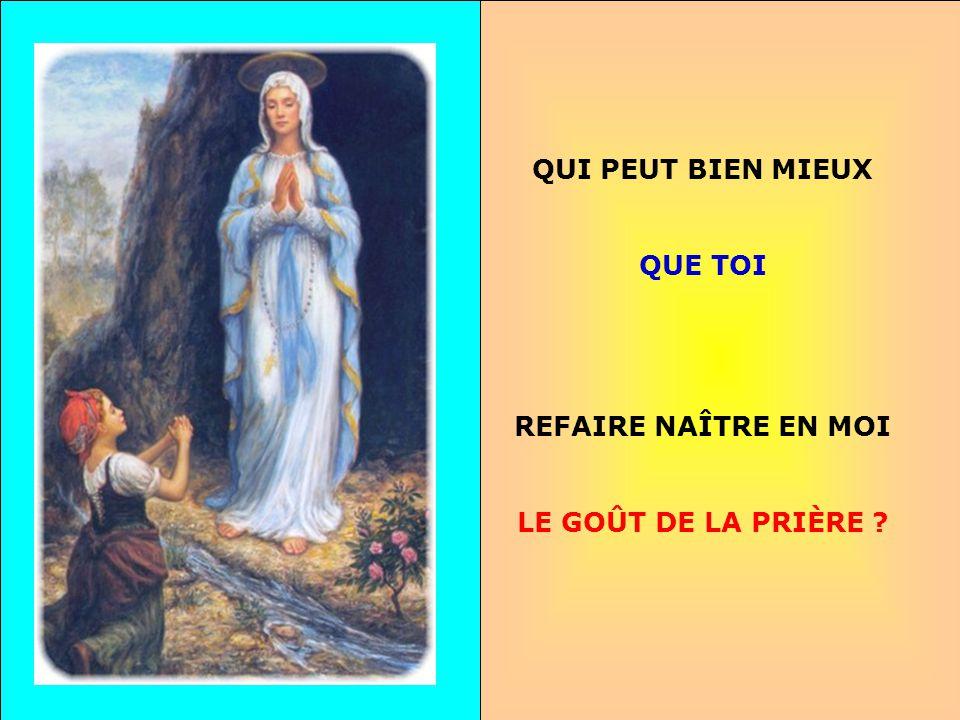 .. Que je me fais petit Et que je me confie À Toi, Marie Ma Mère.