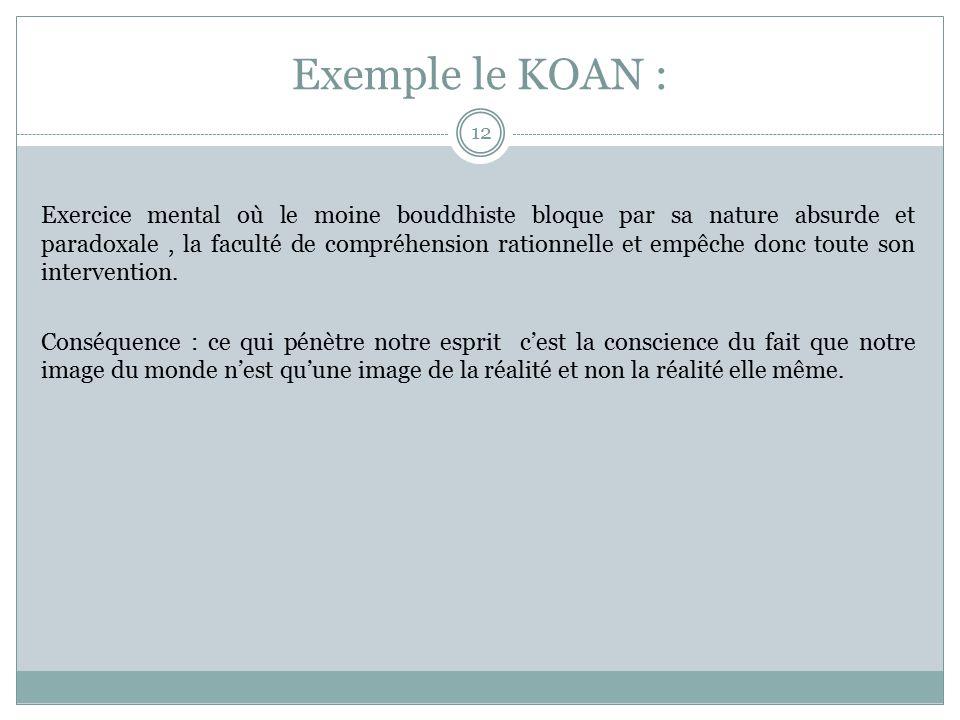 exemple de koan