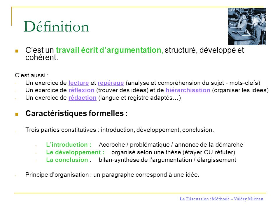 LA DISSERTATION EXPLICATIVE - Cgep de Saint-Laurent