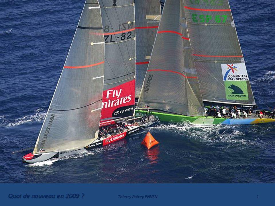 MAIS EXCEPTION LOGIQUE !.Entre un bateau s'approchant de la marque et un autre la quittant.