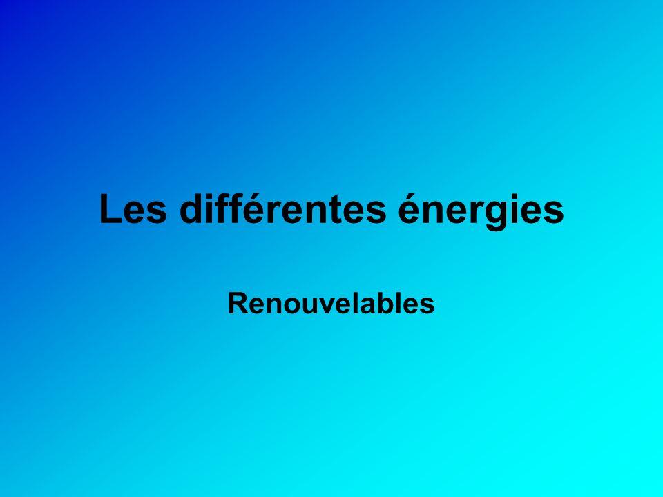 Energie renouvelable Les énergies renouvelables (qu'on appelle aussi « énergies nouvelles ») sont, par définition, des énergies quasi-inépuisables présentes abondamment.