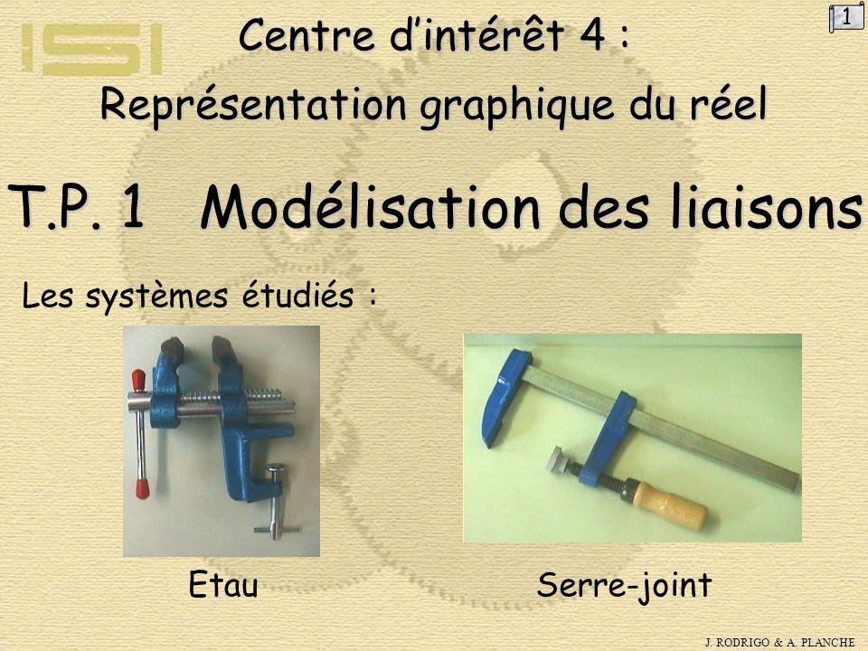 J.RODRIGO & A. PLANCHE Centre d'intérêt 4 : Représentation graphique du réel T.P.