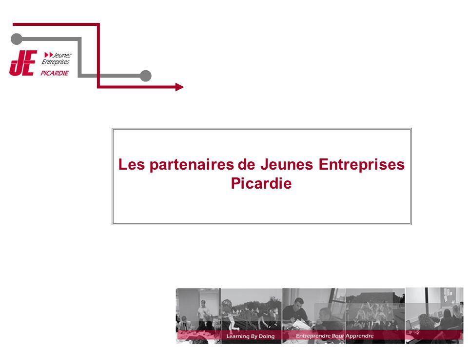 Les partenaires de Jeunes Entreprises Picardie