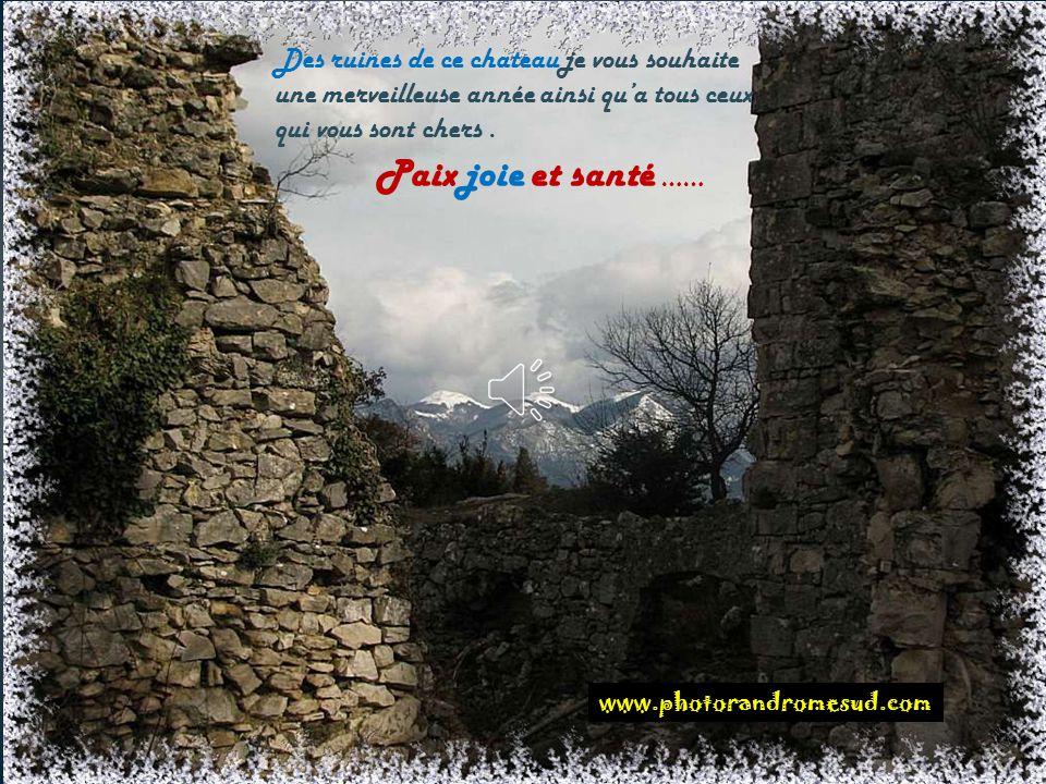 Le château de soyans ( Saou )