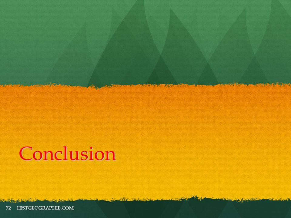 Conclusion HISTGEOGRAPHIE.COM72