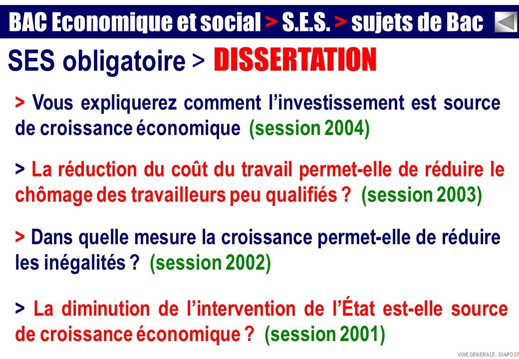 Chomage Et Croissance Dissertation