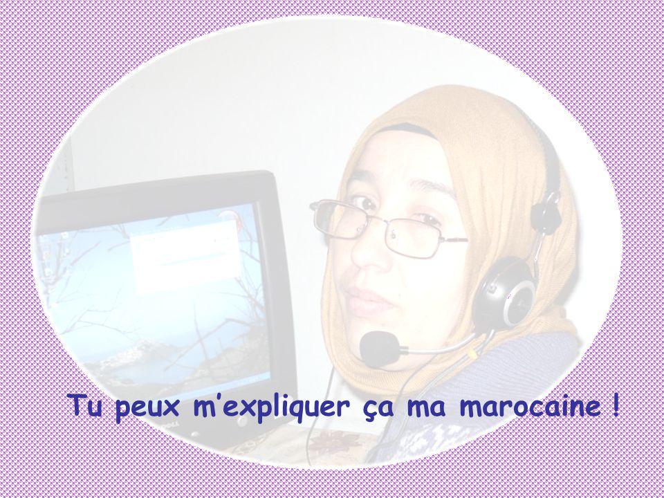T'écouter travailler avec Myriam ….T'écouter lire le coran, t'écouter t'écouter, t'écouter..