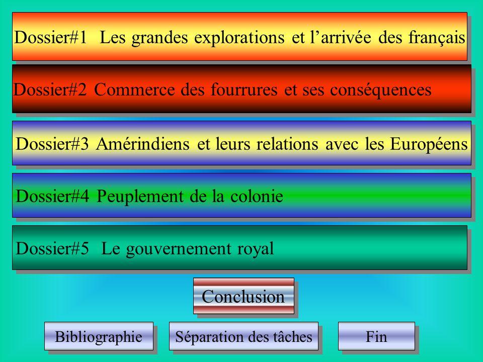 Continuer Comment les français ont développé le Canada.