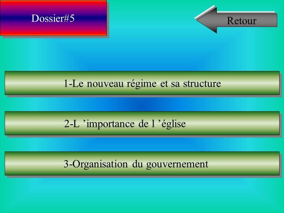 Dossier#4 1-Type de population 2-Moyens pour peupler 3-Commerce 4-Fonctionnement des régimes Retour