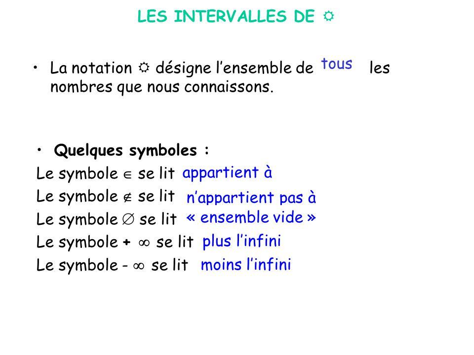 infini symbole math