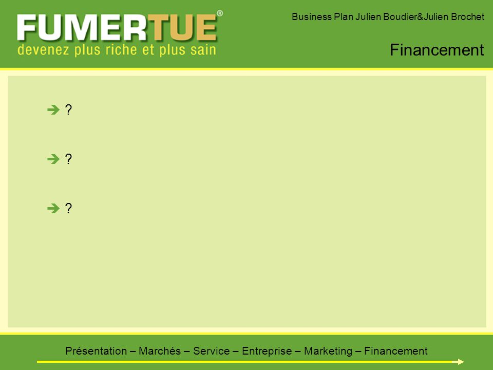Marketing services business plan