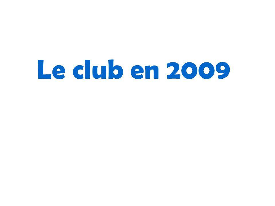 Le club en 2009