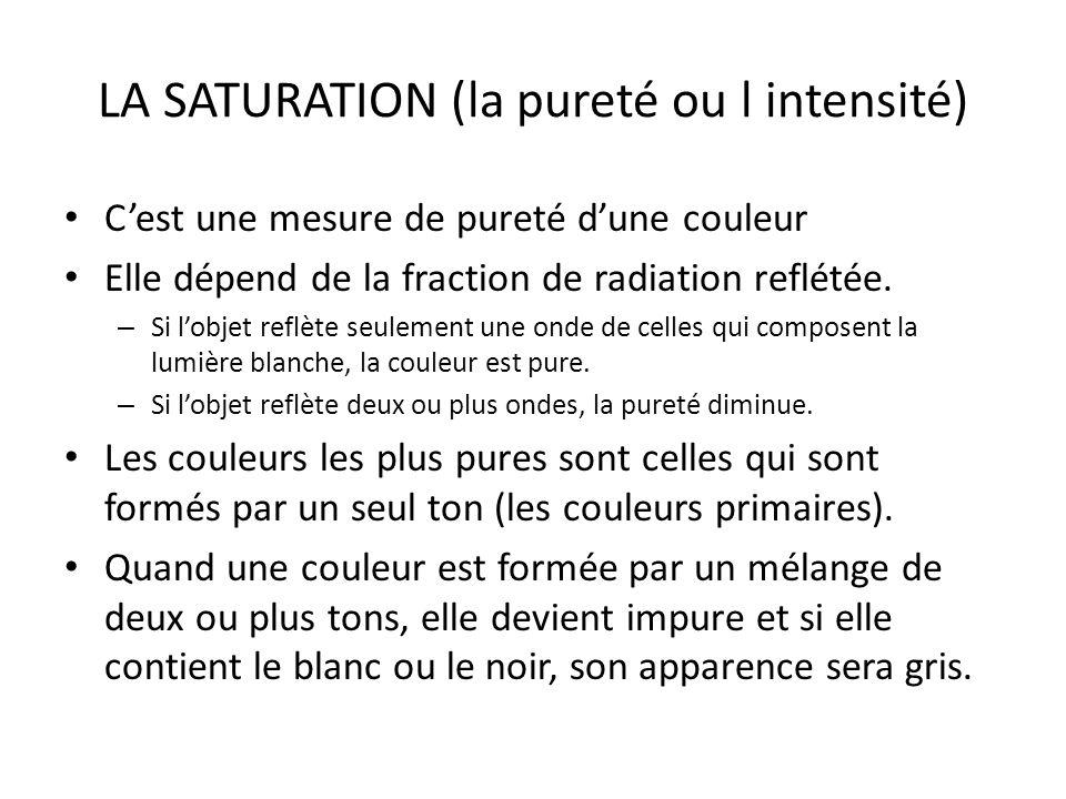 DES SENSATIONS PRODUITES PAR LES COULEURS Sensation: Naturalité Couleurs: Gris et vert (subtiles)