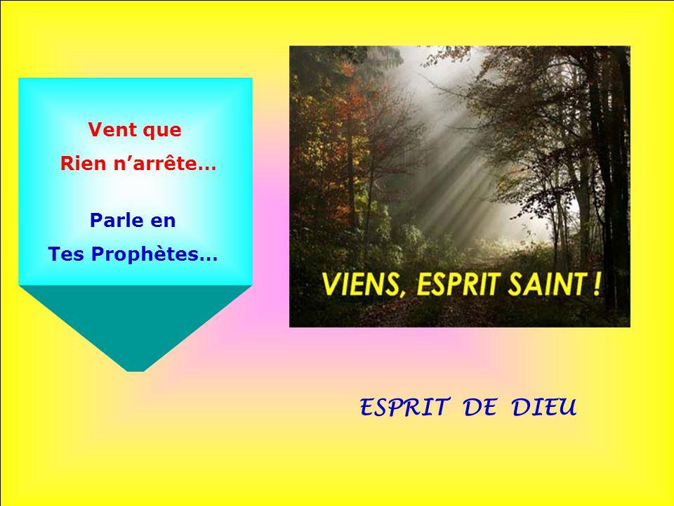 ESPRIT DE DIEU Vent de Pentecôte… Force Des Apôtres…