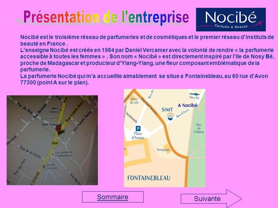 Nocibé est le troisième réseau de parfumeries et de cosmétiques et le premier réseau d instituts de beauté en France.