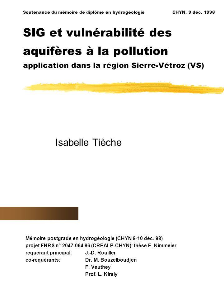 Soutenance du mémoire de diplôme en hydrogéologieCHYN, 9 déc.