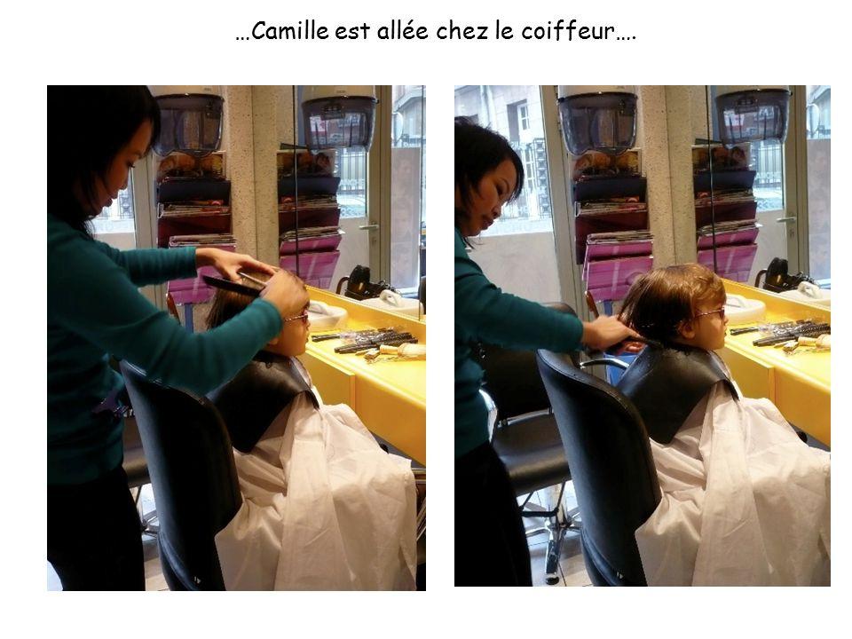 …Camille est allée chez le coiffeur….