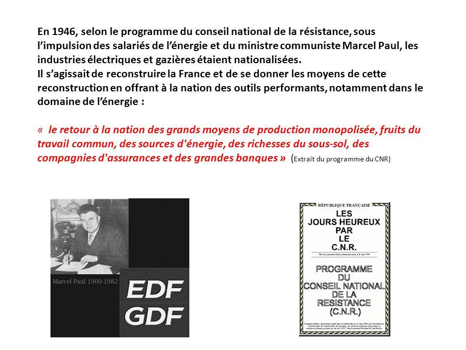 électricité edf ou gdf