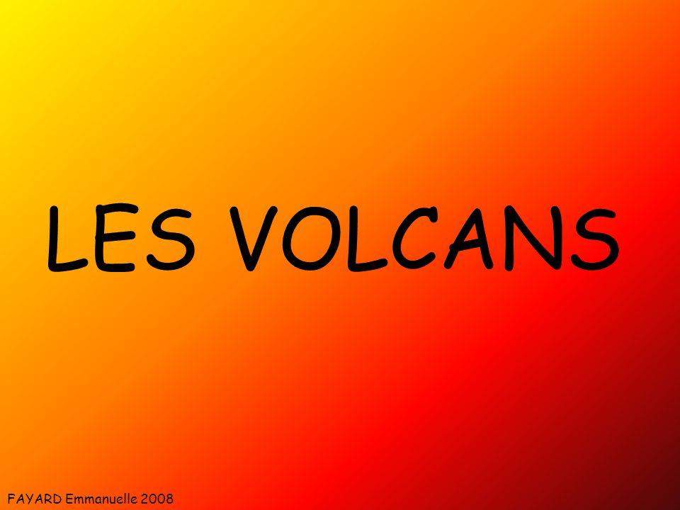 Schéma d'un volcan type Source : wikipédia