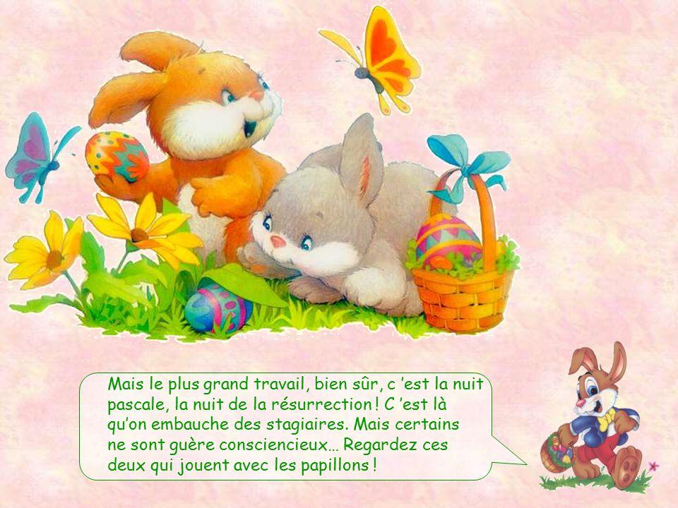 Bien sûr, nous devons nous y prendre à l'avance, car il faut imaginer, dessiner, peindre et décorer… Les vacances de Pâques, nous, on ne connaît pas !