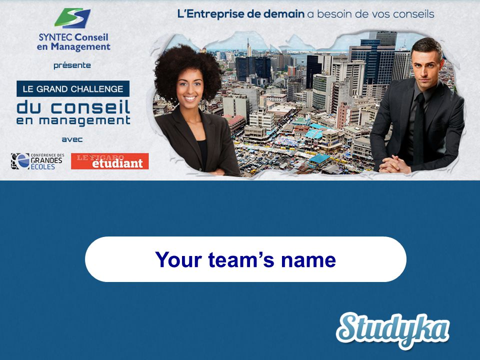 Your team's name
