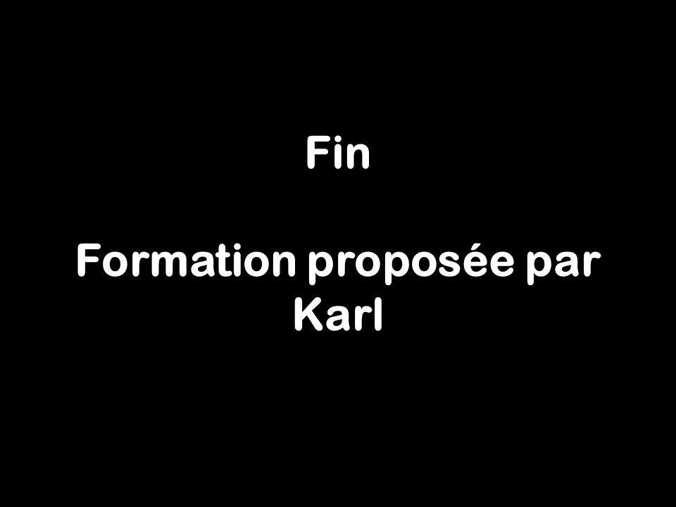 53 Fin Formation proposée par Karl