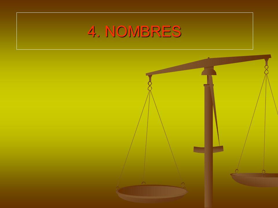 4. NOMBRES