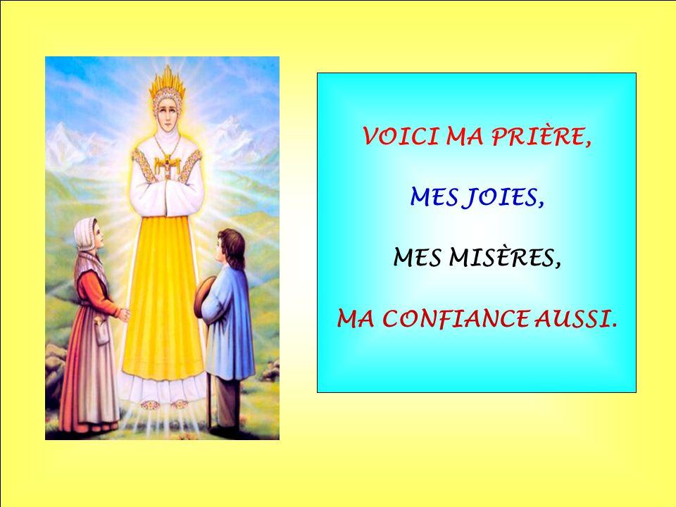 .. VOUS ÊTES MA MÈRE VOUS, SAINTE MARIE.