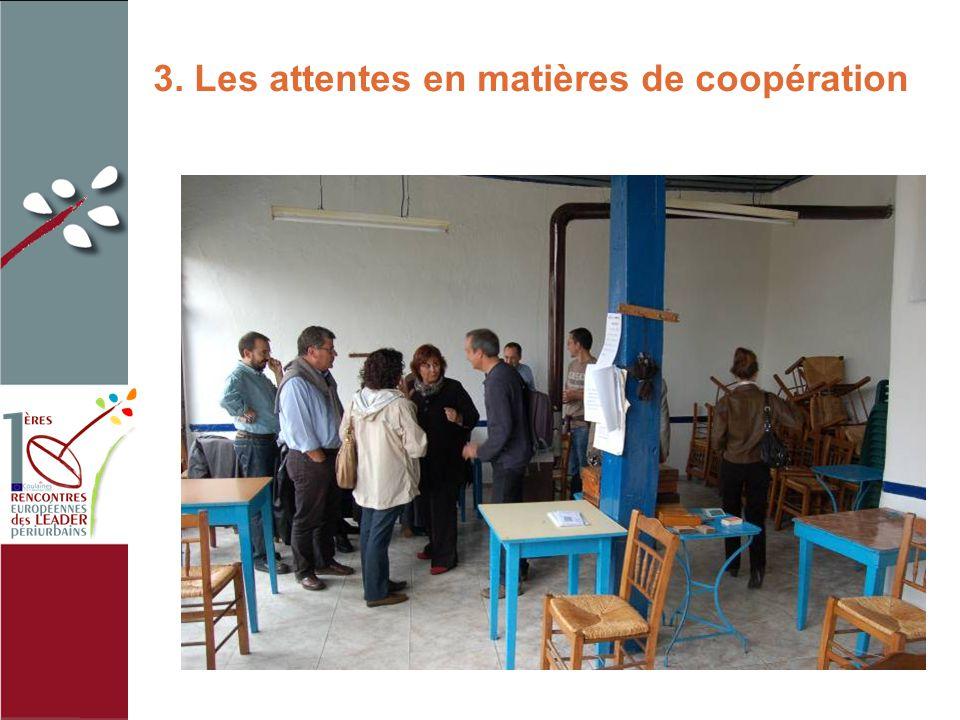 3. Les attentes en matières de coopération photo