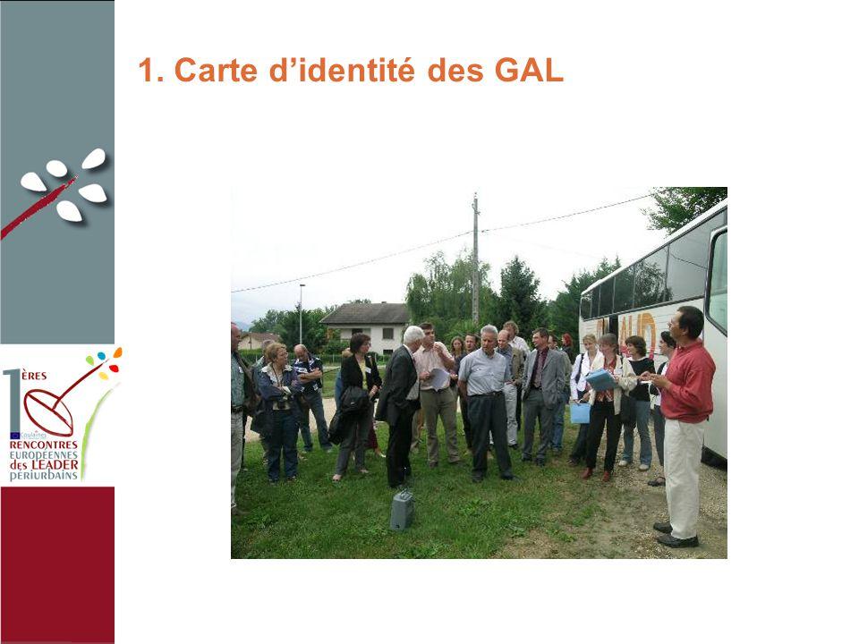 1. Carte d'identité des GAL photo