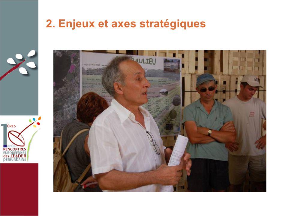 2. Enjeux et axes stratégiques photo