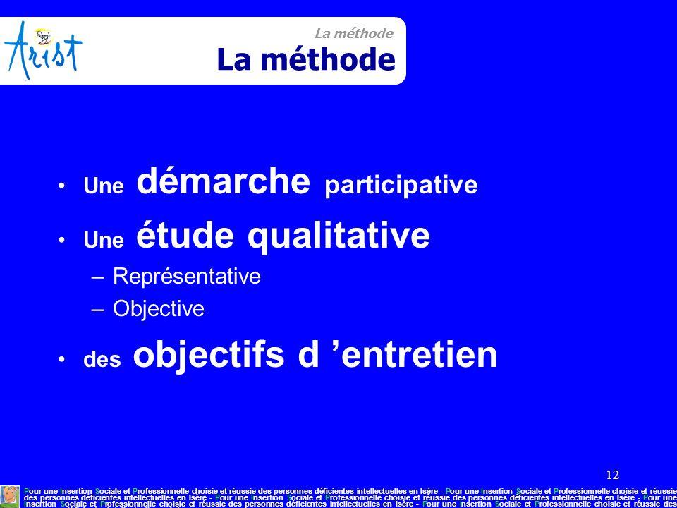 12 La méthode Pour une Insertion Sociale et Professionnelle choisie et réussie des personnes déficientes intellectuelles en Isère - Pour une Insertion