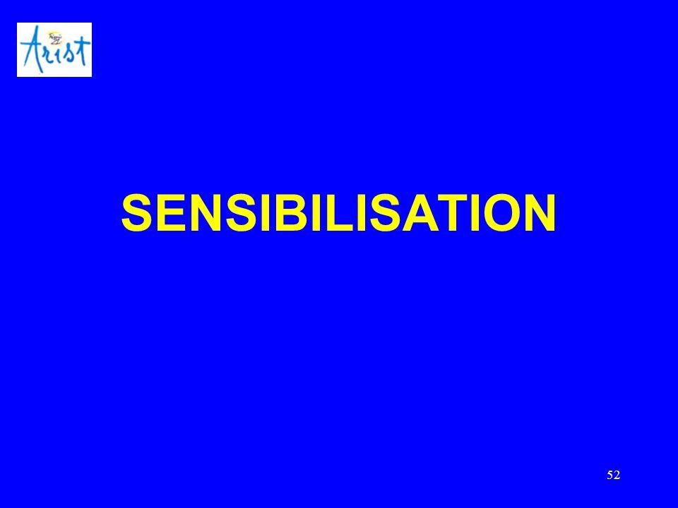 52 SENSIBILISATION