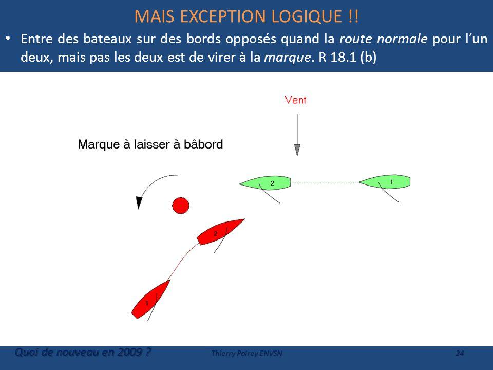 MAIS EXCEPTION LOGIQUE !.