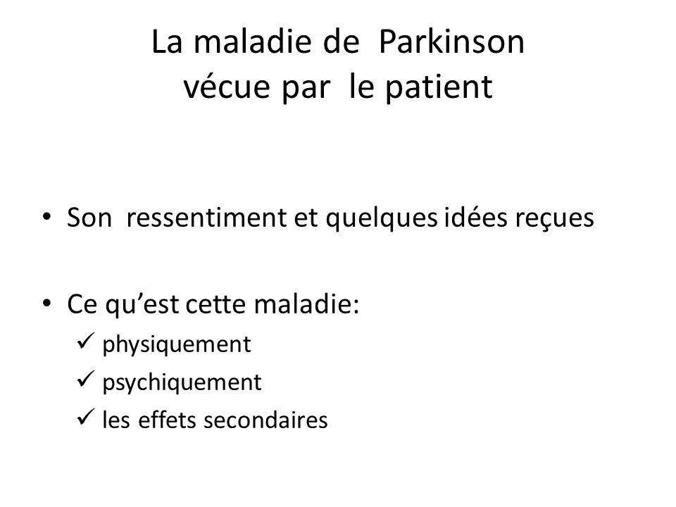 Je vous propose une intervention animée autour de: Deux présentations : d'abord moi-même puis la FFGP Vos questions – vos attentes La maladie de Parkinson vécue par le patient Les réponses possibles L'accompagnement, une solution d'aide .