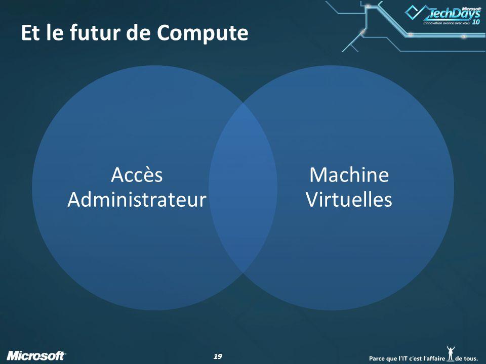 19 Et le futur de Compute