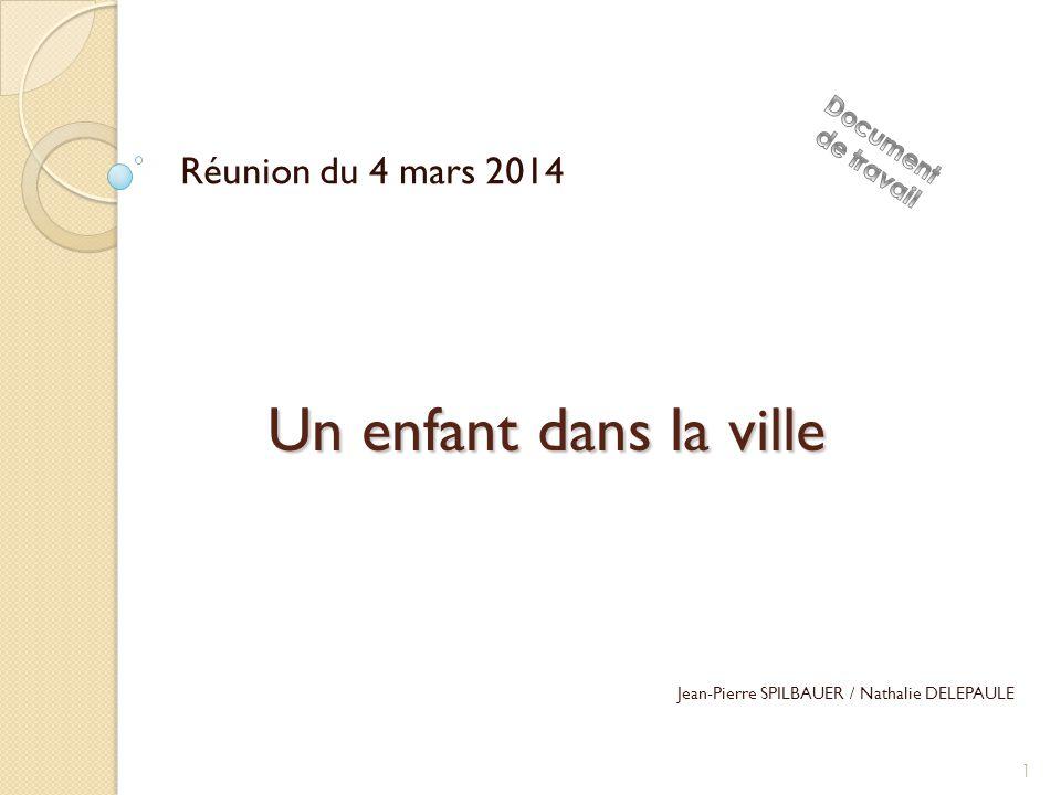Un enfant dans la ville Réunion du 4 mars 2014 Jean-Pierre SPILBAUER / Nathalie DELEPAULE 1
