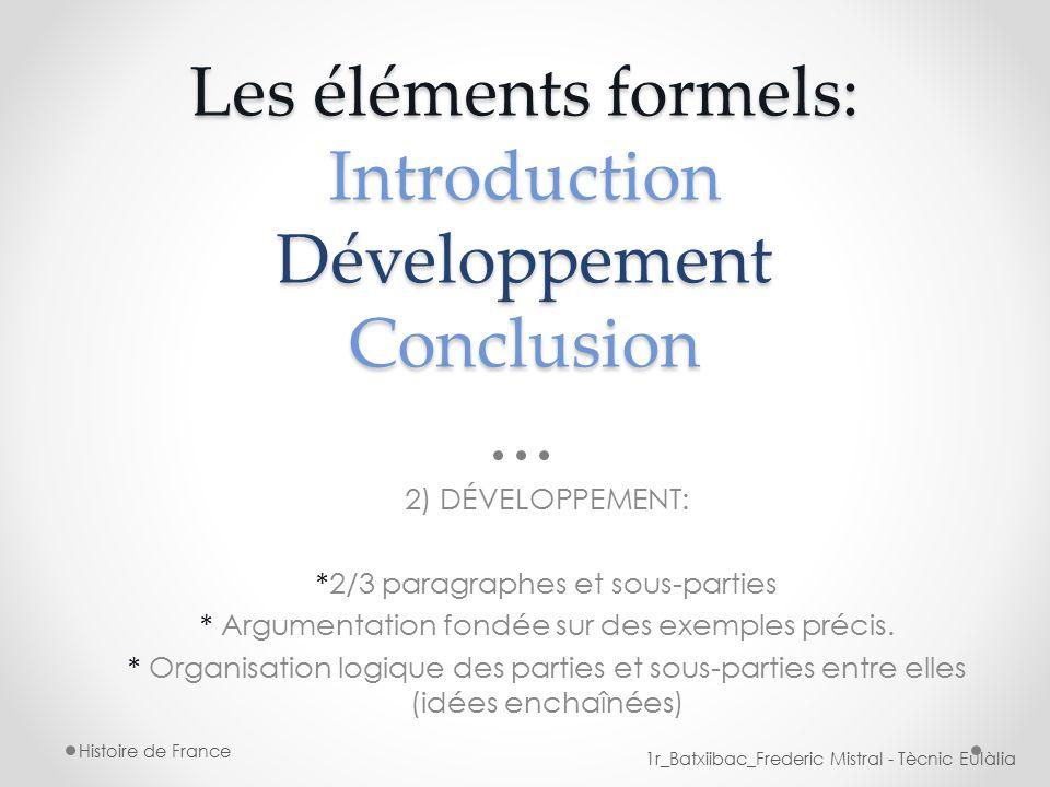 Exemple d'introduction pour une dissertation d'histoire