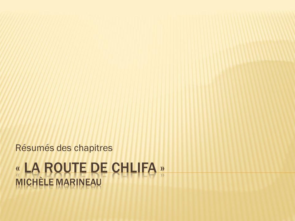 Couverture   La route de Chlifa