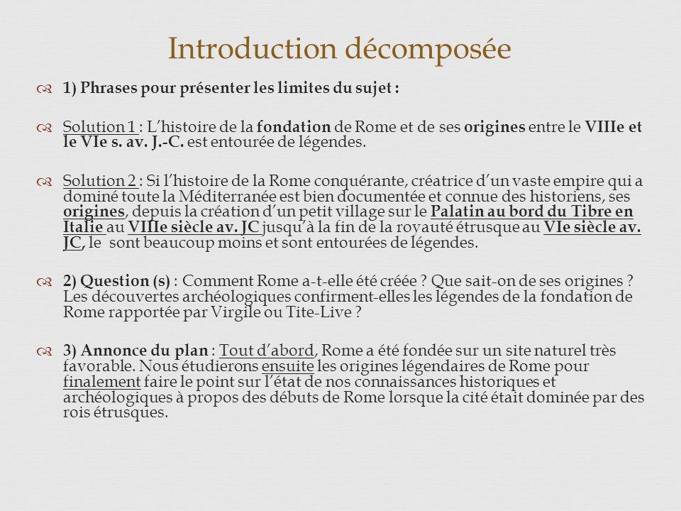 Dissertation Sujets Franais