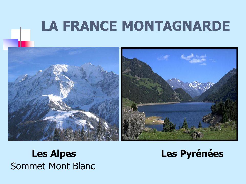 LA FRANCE MONTAGNARDE Les Alpes Les Pyrénées Sommet Mont Blanc