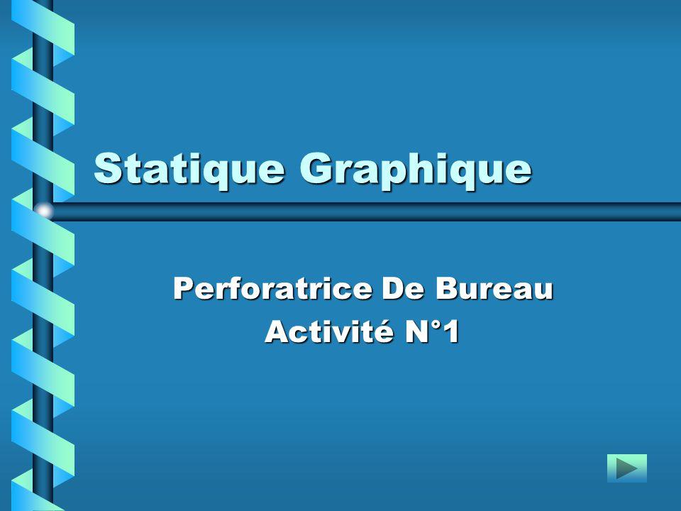 Statique Graphique Perforatrice De Bureau Activité N°1