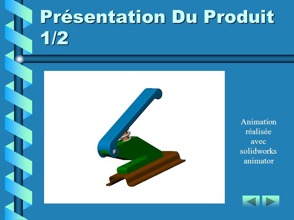 Présentation Du Produit 1/2 Animation réalisée avec solidworks animator