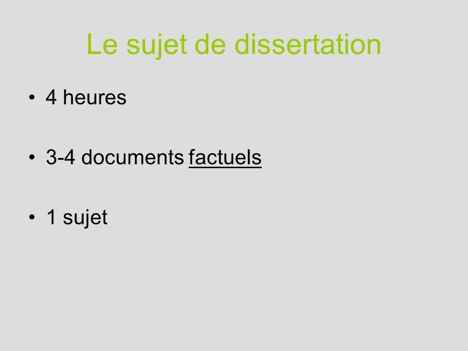 exemple sujet dissertation economie