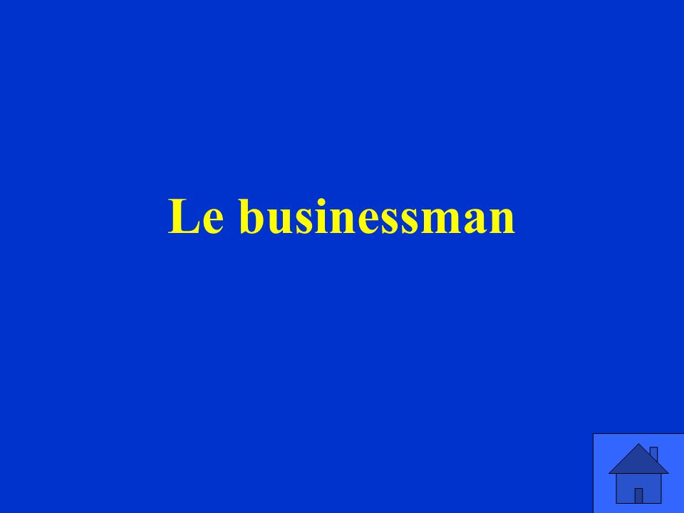 Le businessman
