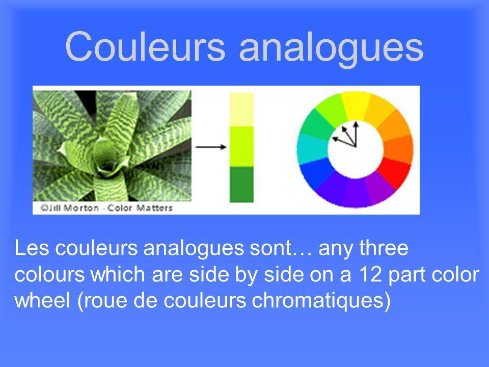 Pour plus d'informations http://www.bbc.co.uk/cbbc/art/activities/games/factory.html http://www.thetech.org/exhibits/online/color/overview/ http://www.learner.org/teacherslab/science/light/color/dots/index.html http://www.atelier-salamandre.net/cours-couleur.html http://www.sarljuliac.fr/chromatique.html