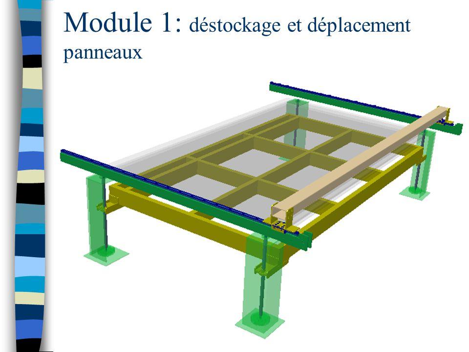 Module 1: déstockage et déplacement panneaux