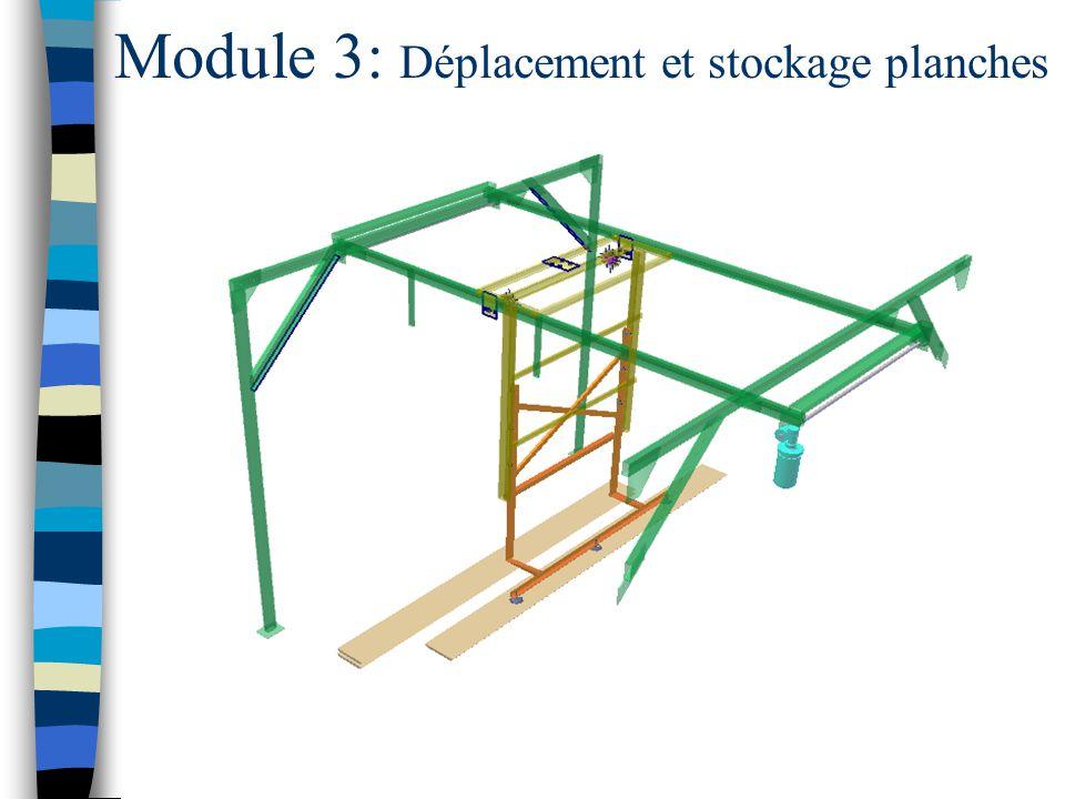 Module 3: Déplacement et stockage planches