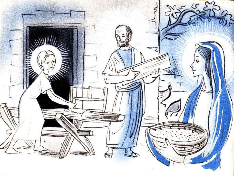 Et puis, quand il neigeait, Ma maman me disait : Jésus fait le ménage, Il secoue l'oreiller.