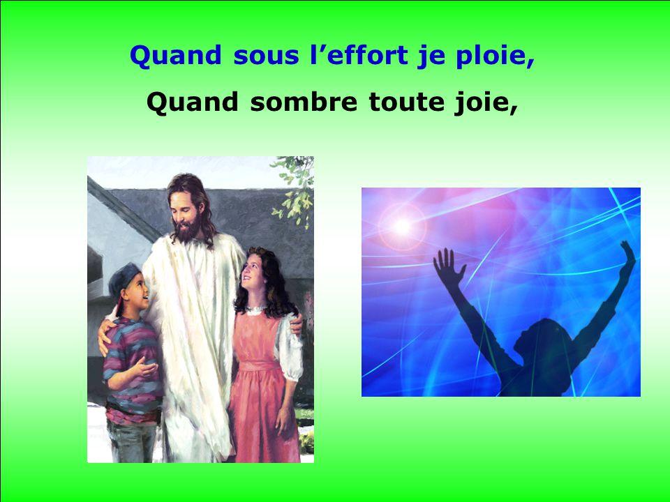 Ta main du haut des Cieux Prend soin de moi.
